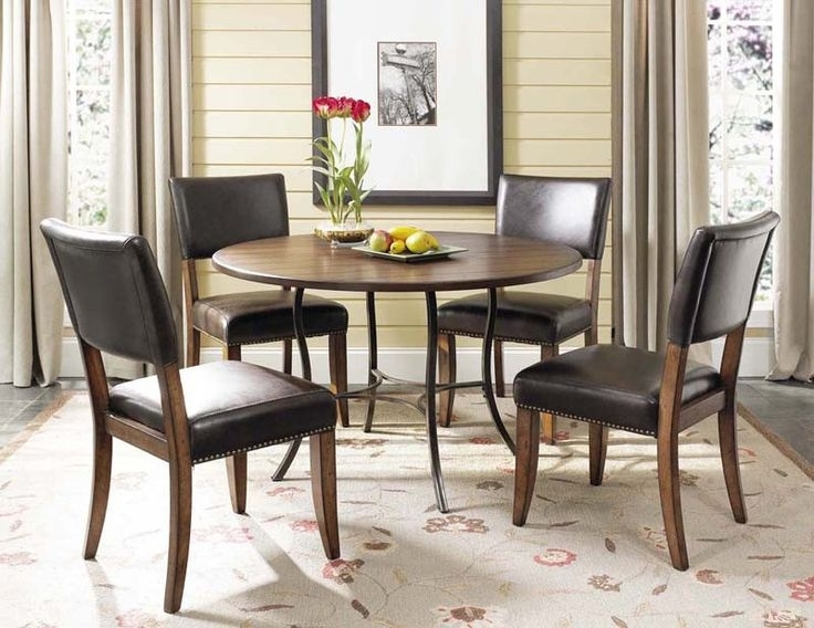 24 Best Kitchen Table Images On Pinterest | Parsons Chairs, Chairs Intended For Bale Rustic Grey 7 Piece Dining Sets With Pearson White Side Chairs (Image 6 of 25)
