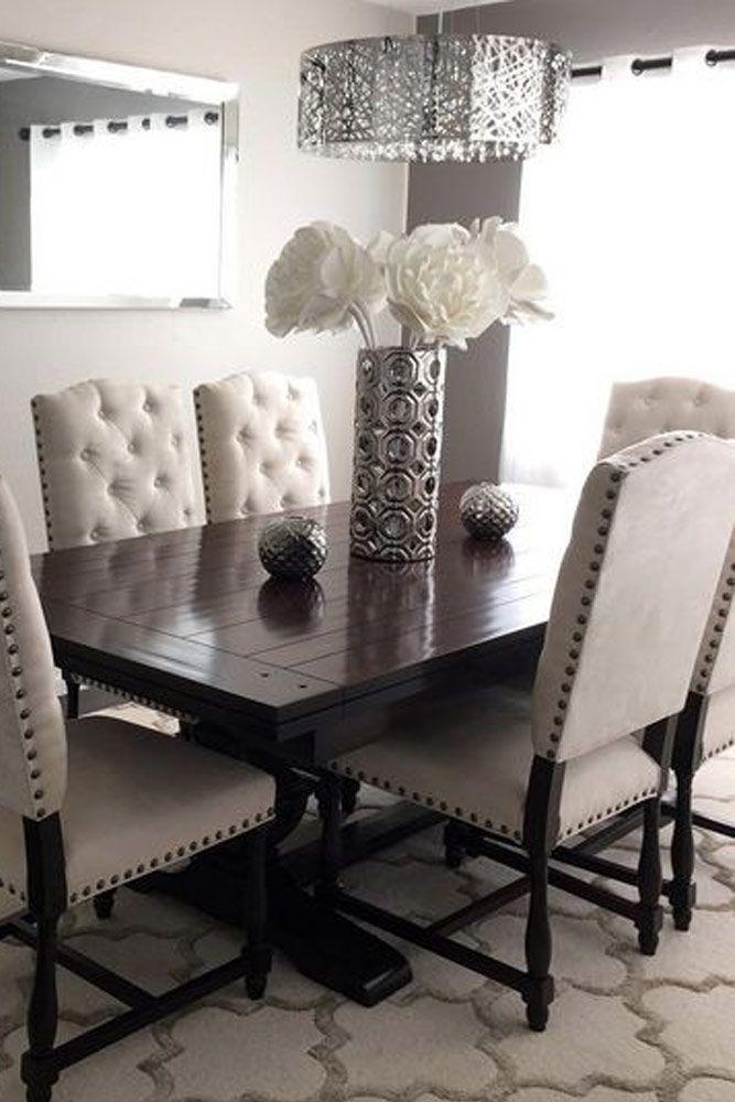 24 Elegant Dining Room Sets For Your Inspiration | Dining Rooms Pertaining To Dining Room Tables (Image 2 of 25)