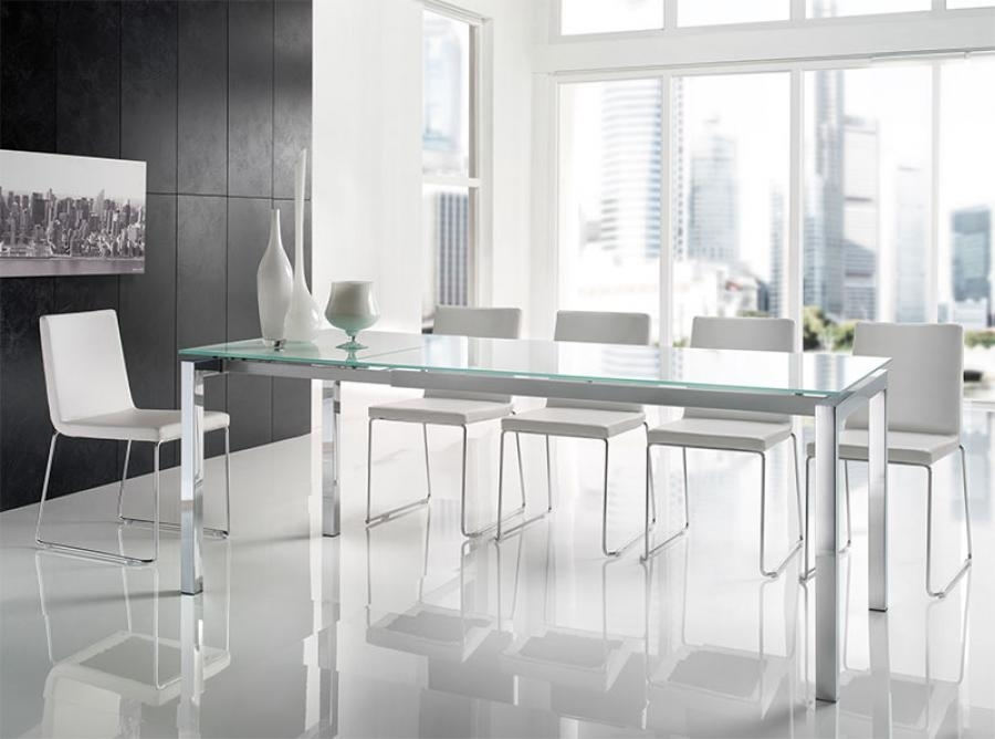 24 Surprisingly Modern Dining Table And Chairs Uk – Sfconfelca Homes Regarding Smoked Glass Dining Tables And Chairs (Image 1 of 25)