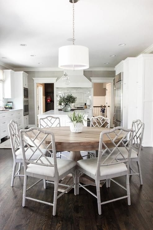 25 Exquisite Corner Breakfast Nook Ideas In Various Styles | Future In Large White Round Dining Tables (View 4 of 25)