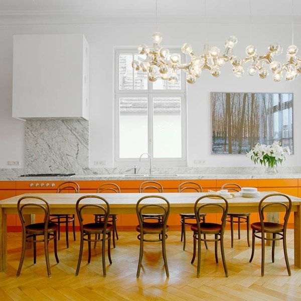 25 Incredibly Long Dining Tables Pertaining To Long Dining Tables (Image 2 of 25)