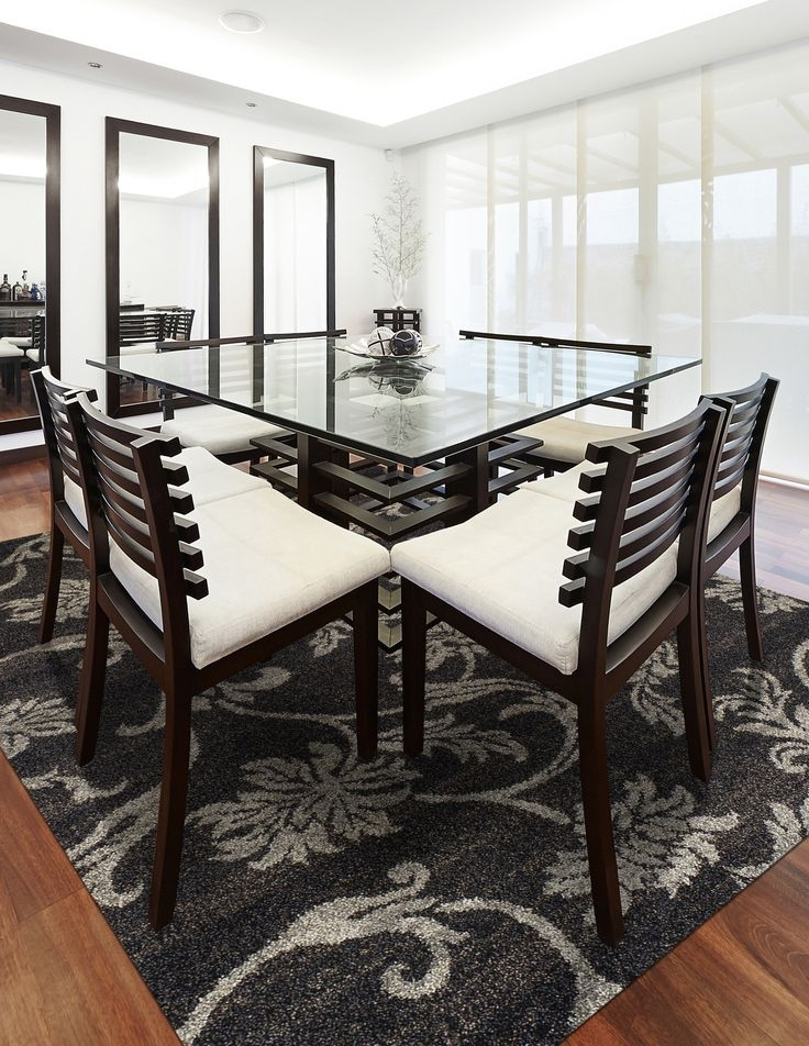 27 Best Dining Areas Images On Pinterest | Dining Area, Dining Rooms Inside Palazzo 9 Piece Dining Sets With Pearson White Side Chairs (Image 3 of 25)