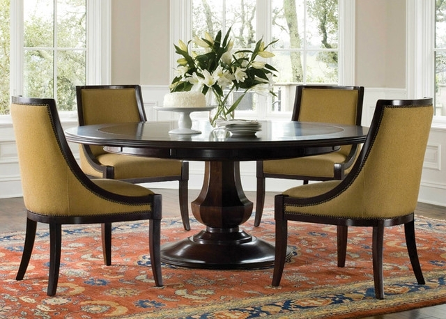 27 Dining Table Designs For Your Dream Home – S Bricks Blog Inside Circular Dining Tables (Image 2 of 25)