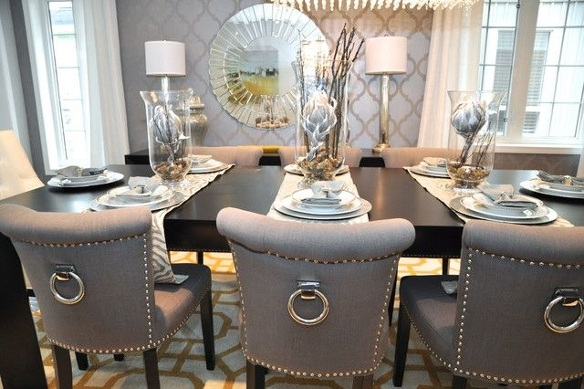 29 Best Dallas July 2016 Images On Pinterest | Contemporary Art For Bale Rustic Grey 6 Piece Dining Sets With Pearson Grey Side Chairs (View 15 of 25)