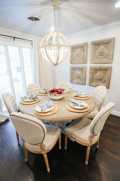 29 Best Dining Room Decor Images On Pinterest | Dining Rooms, Dinner Inside Magnolia Home White Keeping 96 Inch Dining Tables (View 19 of 25)