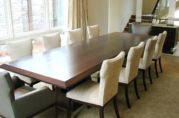 3. 10 Seater Table And Chairs Bewitching Dining Table Or Seat Dining Pertaining To Dining Table And 10 Chairs (Photo 10 of 25)
