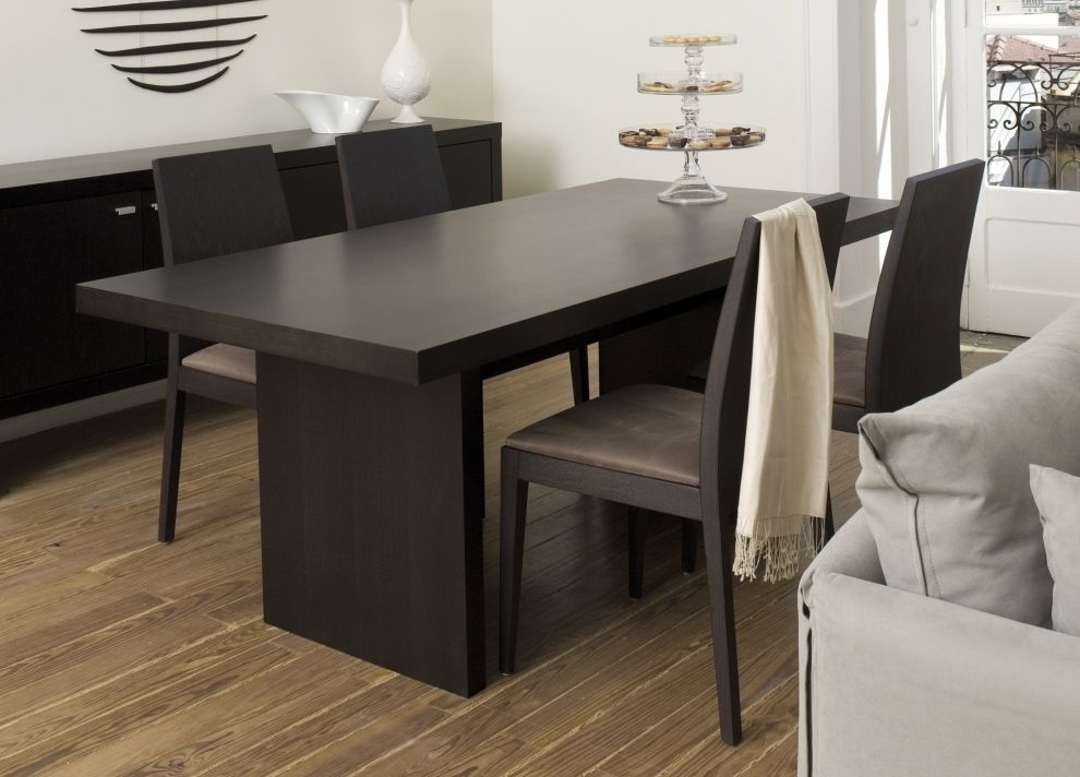 3 Key Points To Consider In The Perfect Contemporary Dining Table With Regard To Contemporary Dining Tables (Photo 14 of 25)