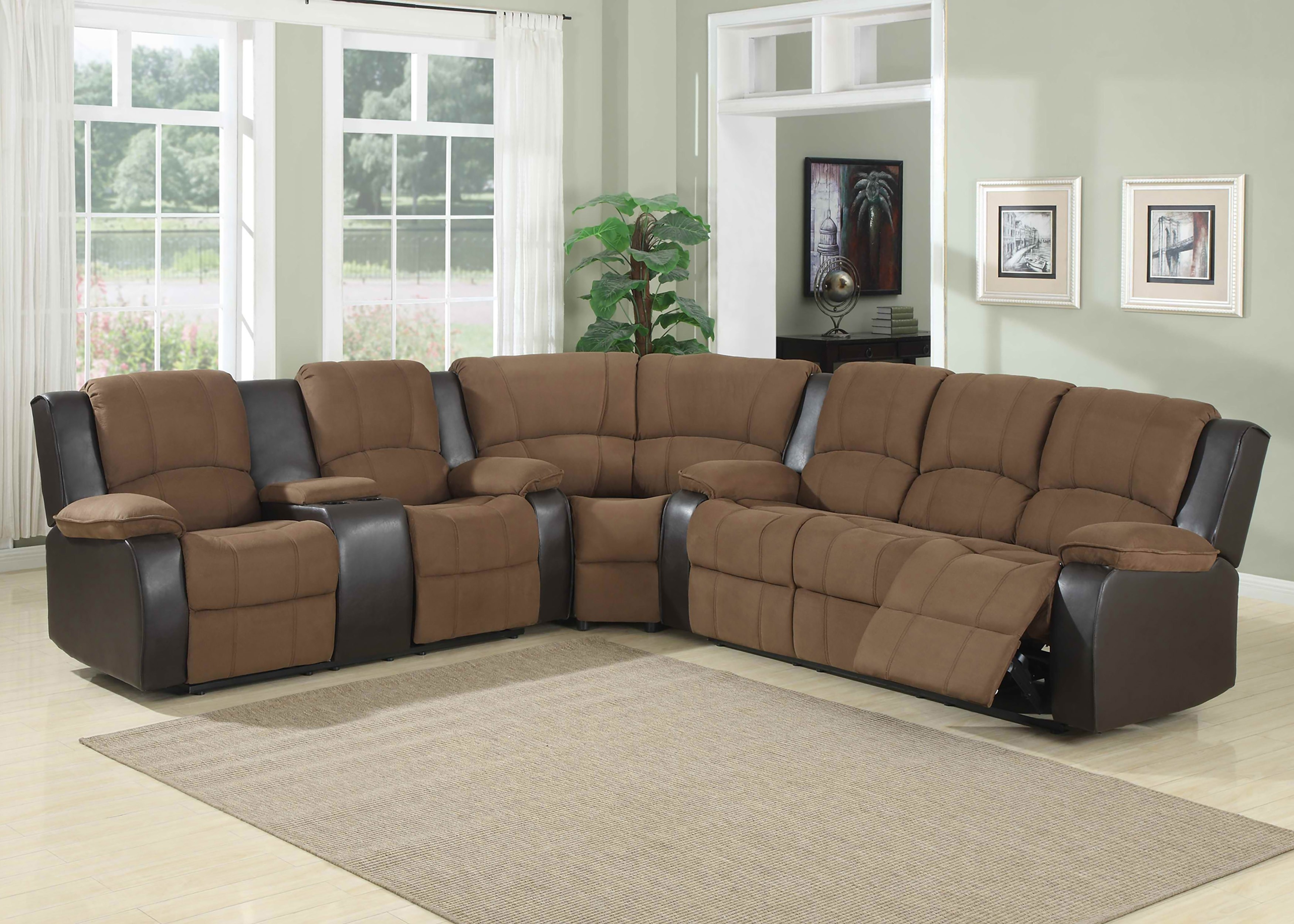 3 Piece Reclining Sectional Waylon Power W Recliner Living Spaces With Waylon 3 Piece Power Reclining Sectionals (View 9 of 25)