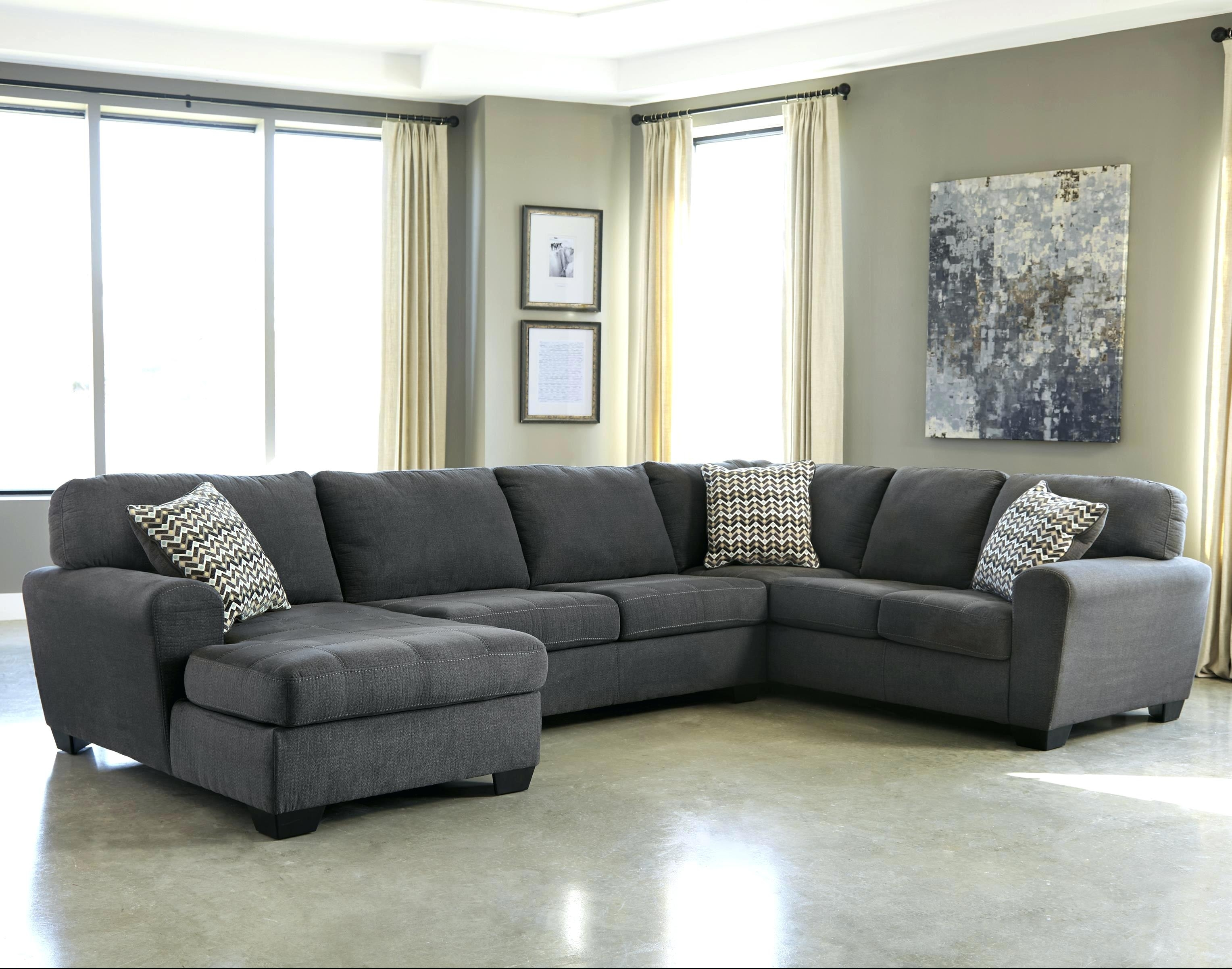 3 Piece Sectional Haven Blue Steel 3 Piece Sectional 3 Pc Reclining Intended For Haven 3 Piece Sectionals (Image 2 of 25)