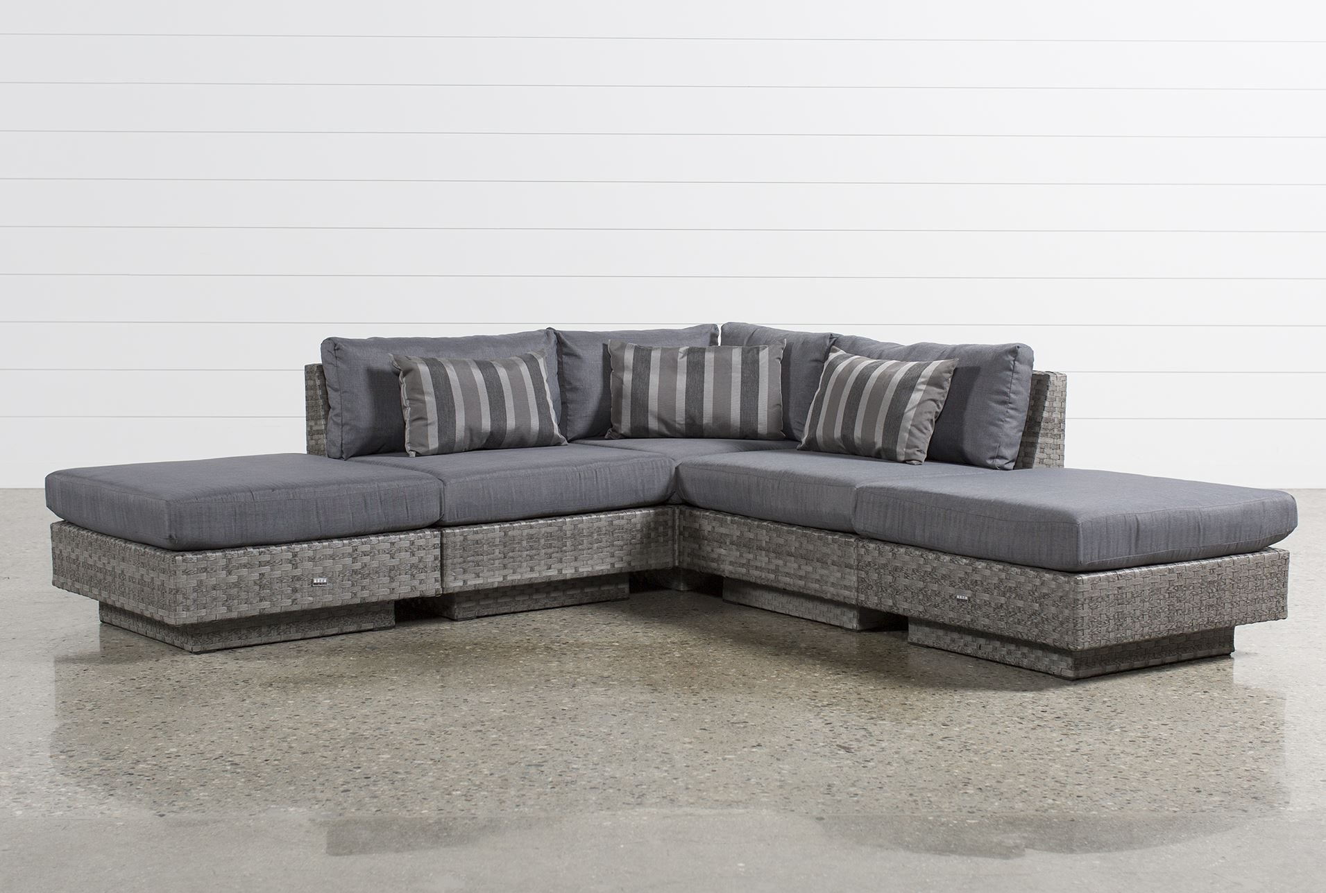 3 Piece Sectional Sofa Dimensions | Baci Living Room With Regard To Malbry Point 3 Piece Sectionals With Raf Chaise (View 18 of 25)
