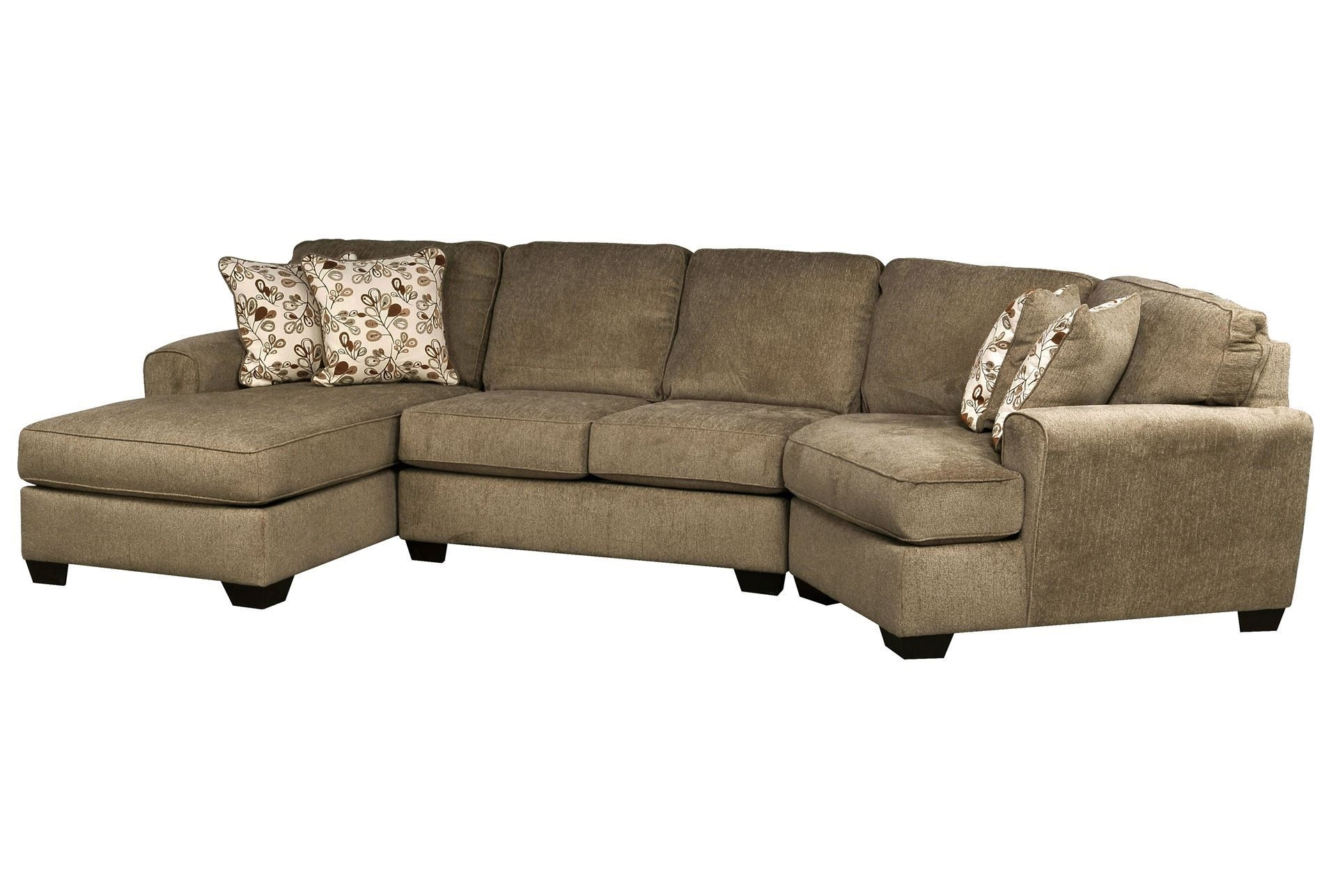 3 Piece Sectional Sofa Dimensions | Two Birds Home For Malbry Point 3 Piece Sectionals With Laf Chaise (View 17 of 25)