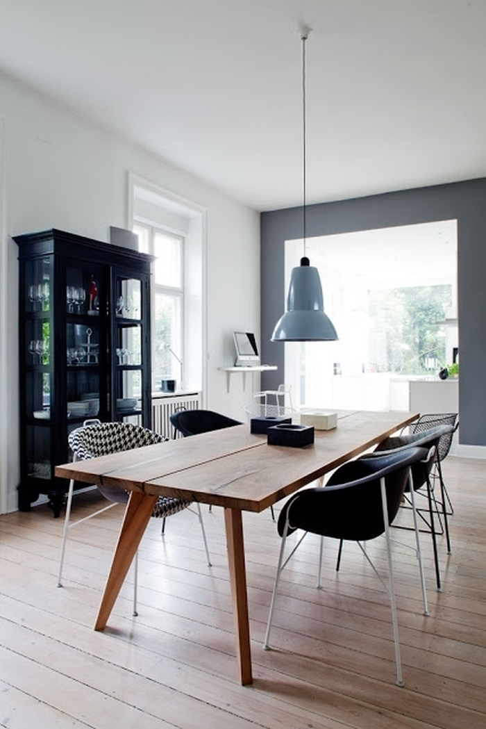 3. Wood Table And Modern Chairs Scandinavian Design Simple Danish For Danish Style Dining Tables (Photo 16 of 25)