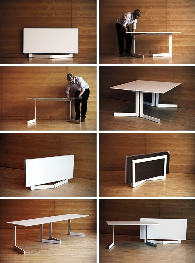 30 Extendable Dining Tables | Трансформеры | Pinterest | Table Inside Large Folding Dining Tables (Photo 10 of 25)