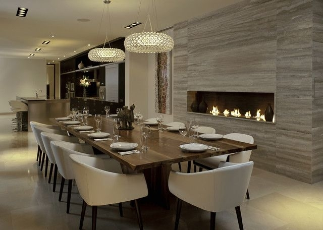 30 Modern Dining Rooms Design Ideas | Home | My Home Ideas Within Modern Dining Room Sets (View 20 of 25)