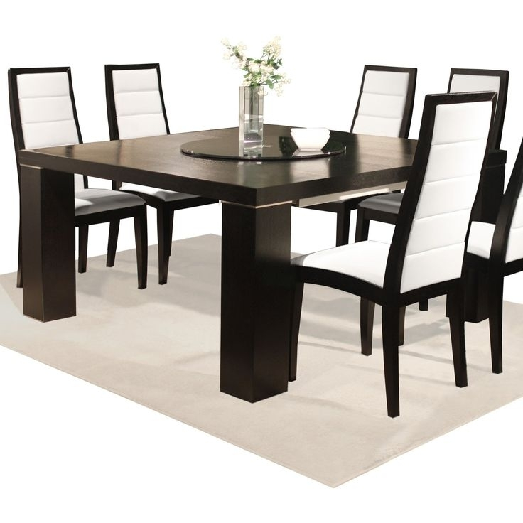 31 Best Dining Tables Images On Pinterest | Dining Rooms, Side Within Candice Ii 7 Piece Extension Rectangular Dining Sets With Slat Back Side Chairs (Photo 20 of 25)