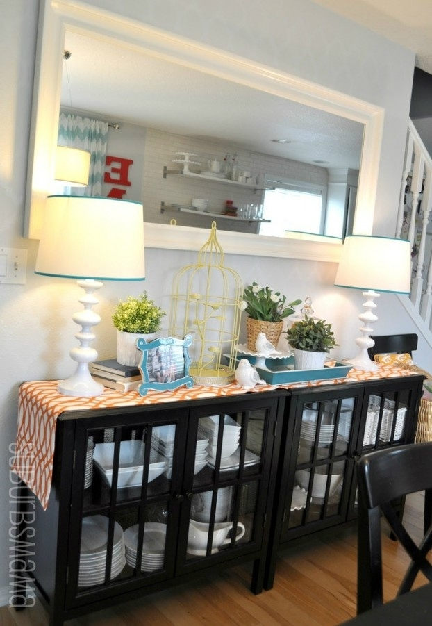 32 Dining Room Storage Ideas – Decoholic Within Dining Room Cabinets (Image 4 of 25)
