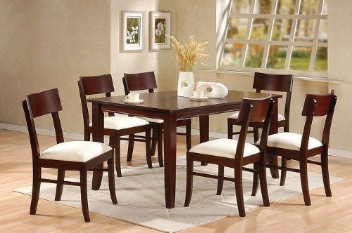 33 Best Home & Kitchen – Dining Room Furniture Images On Pinterest Intended For Palazzo 7 Piece Rectangle Dining Sets With Joss Side Chairs (View 5 of 25)