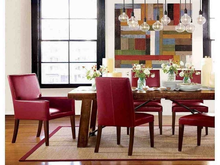 33 Best Leather Dining Chairs Images On Pinterest | Leather Dining Pertaining To Red Leather Dining Chairs (Photo 16 of 25)