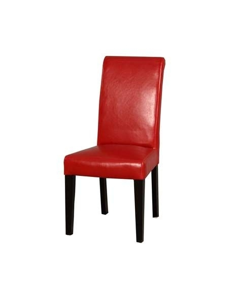33 Best Leather Dining Chairs Images On Pinterest | Leather Dining With Regard To Red Leather Dining Chairs (Image 2 of 25)