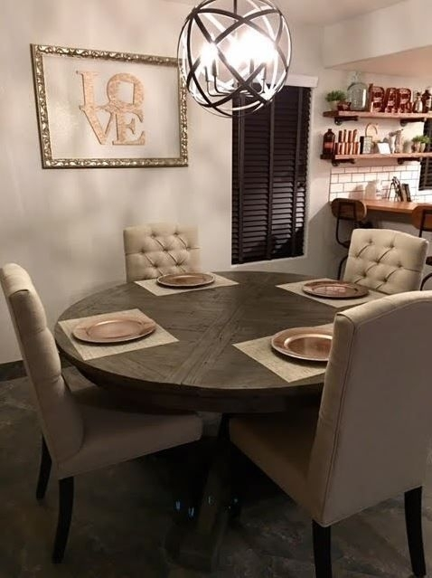 36 Best Cozy & Cute Images On Pinterest | Cozy, Decorating Ideas And In Combs Extension Dining Tables (Photo 24 of 25)