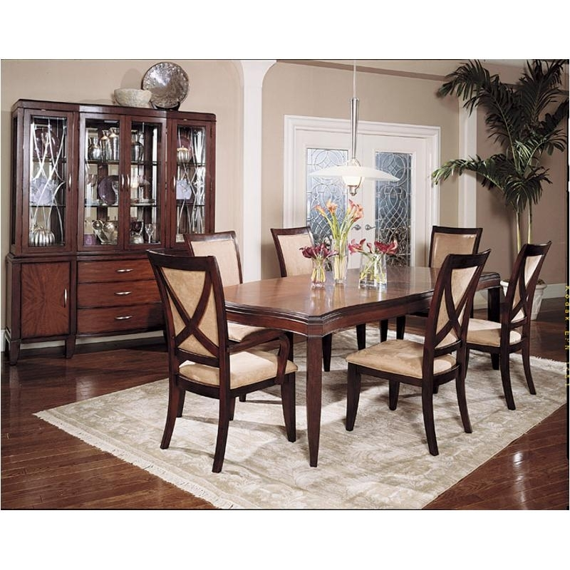 360 222 Legacy Classic Furniture Vogue Dining Room Leg Ext. Table Regarding Vogue Dining Tables (Photo 25 of 25)