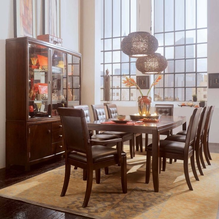 38 Best Burke Images On Pinterest | Buffets, Buffet And Cabinets In Palazzo 7 Piece Dining Sets With Pearson White Side Chairs (Image 5 of 25)