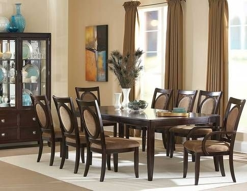 38 Best Burke Images On Pinterest | Buffets, Buffet And Cabinets Inside Palazzo 9 Piece Dining Sets With Pearson White Side Chairs (Photo 17 of 25)