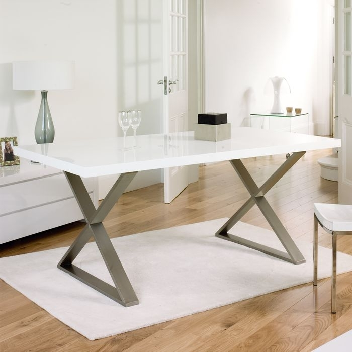 39 Best Premier Range Dining Tables Images On Pinterest White Gloss In White Gloss Dining Tables 140Cm (Image 1 of 25)