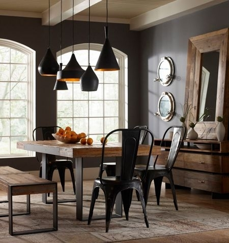 396 Best Rooms I Love Images On Pinterest | Kid Bedrooms, Baby Rooms Intended For Bale Rustic Grey 7 Piece Dining Sets With Pearson Grey Side Chairs (Photo 8 of 25)