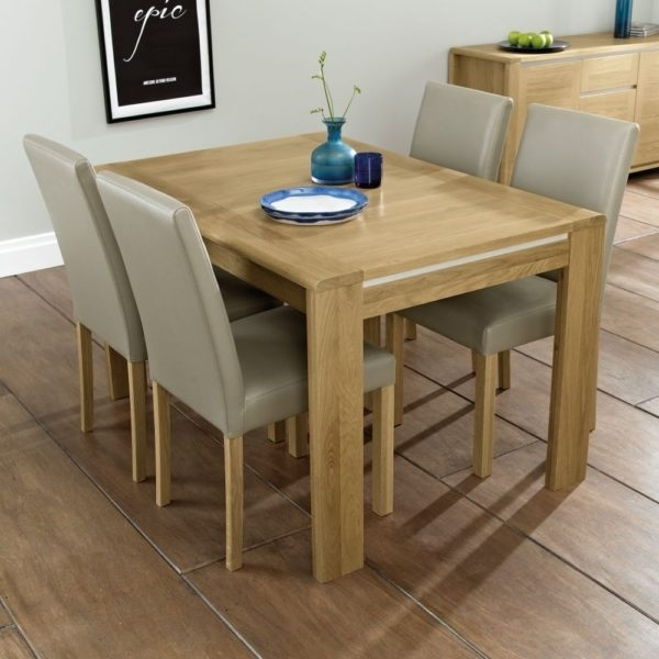 4-6 Seater Dining Table - Keens Furniture within 4 Seater Extendable Dining Tables
