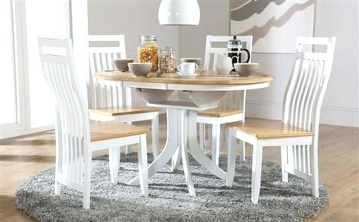 4. Extendable Dining Table And Chairs With Mace High Gloss Extending With Extendable Dining Tables And 4 Chairs (Photo 21 of 25)