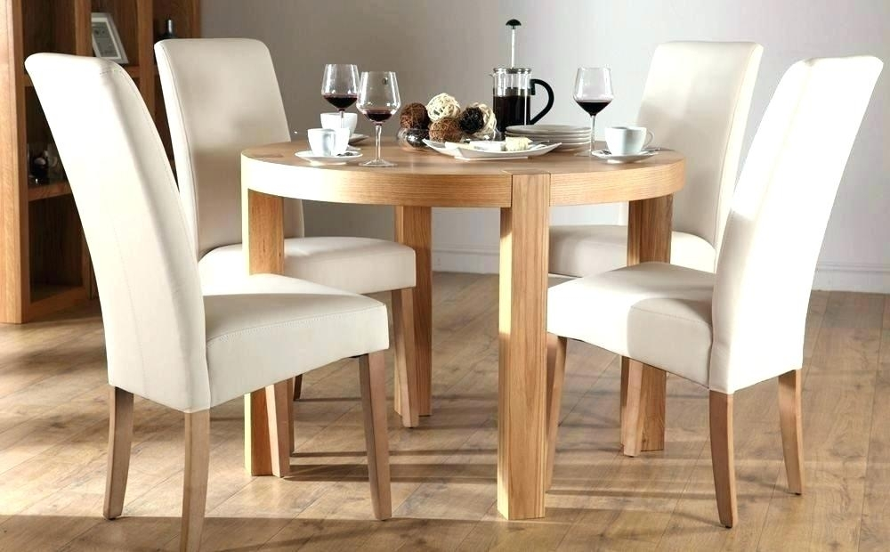 4 Foot Square Dining Table 4 Foot Round Table Oak Table And Chairs for Round Oak Dining Tables And Chairs
