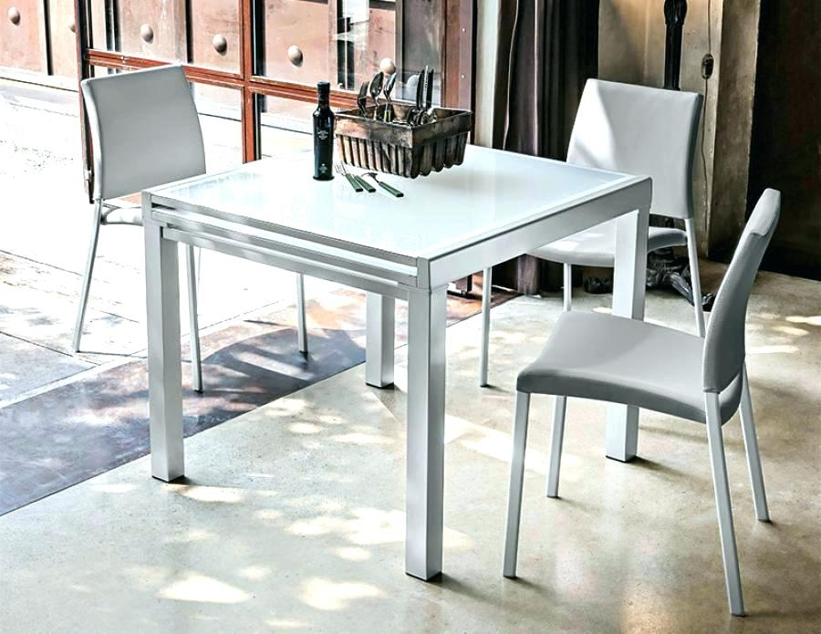 4 Foot Square Dining Table Square Kitchen Table For 4 Furniture within Square Extendable Dining Tables