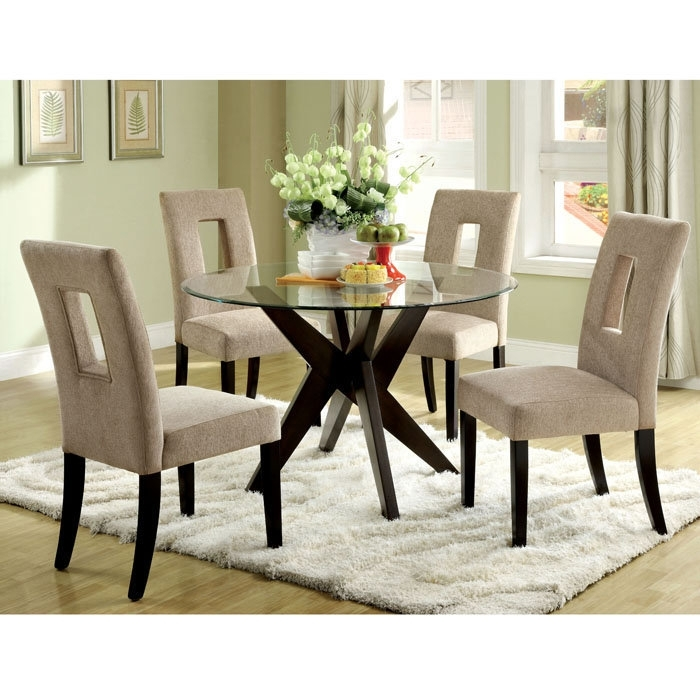 4. Glass Top Dining Tables Homesfeed Light Oak Dining Chairs Inside with Round Glass and Oak Dining Tables