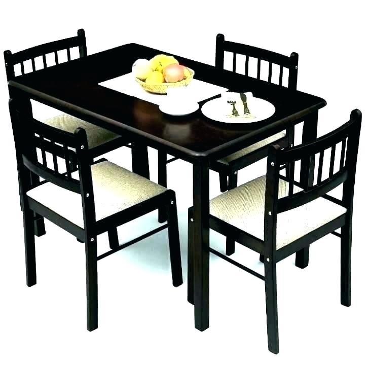 4 Seater Dining Set Small 4 Table Awesome 4 Seat Dining Tables Throughout Small 4 Seater Dining Tables (Photo 17 of 25)
