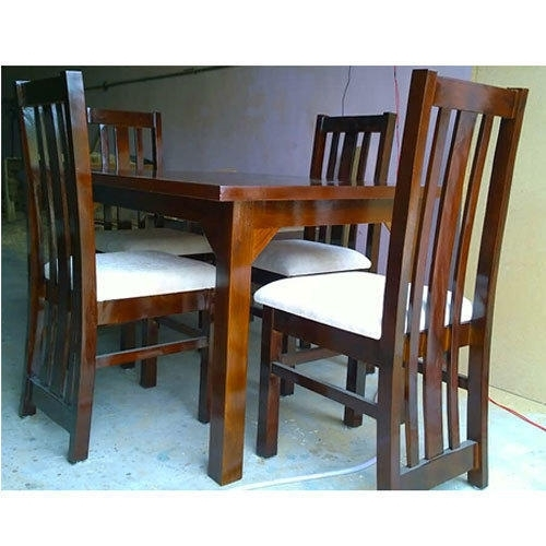 4 Seater Dining Table At Rs 11000 /set | Small Dining Table – Am For Small 4 Seater Dining Tables (Photo 24 of 25)