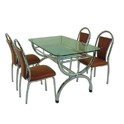 4 Seater Dining Table At Rs 12300 /set | Dining Table – Z. A (Image 4 of 25)