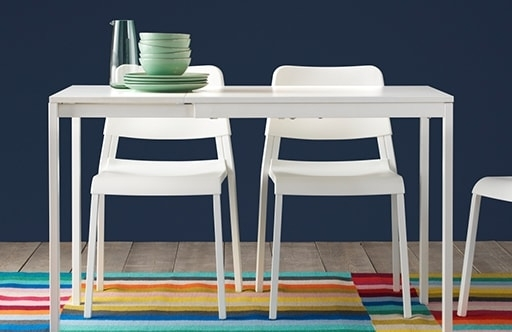4 Seater Dining Table & Chairs | Ikea With 4 Seat Dining Tables (Photo 23 of 25)