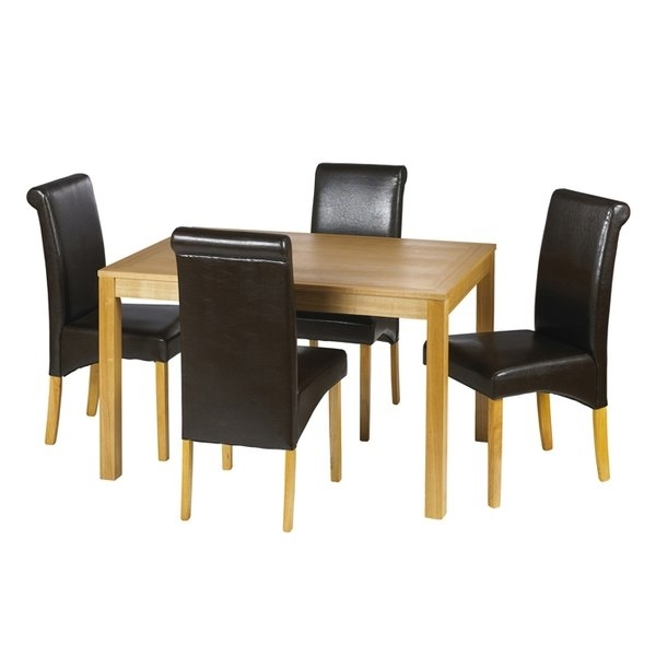 4 Seater Dining Table Sets | Wayfair.co.uk Regarding Dining Table Sets (Photo 15 of 25)