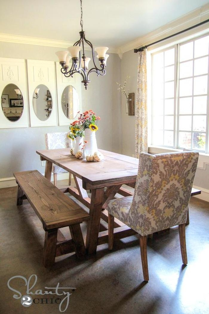 4. Winsome Very Small Dining Tables 6 Furniture Round Drop Leaf Within Dining Tables And 2 Benches (Photo 13 of 25)