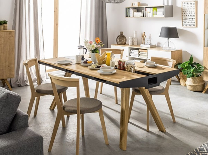 40+ Coolest Unique Dining Tables You Can Buy – Awesome Stuff 365 Inside Oak Dining Suites (Photo 7 of 25)