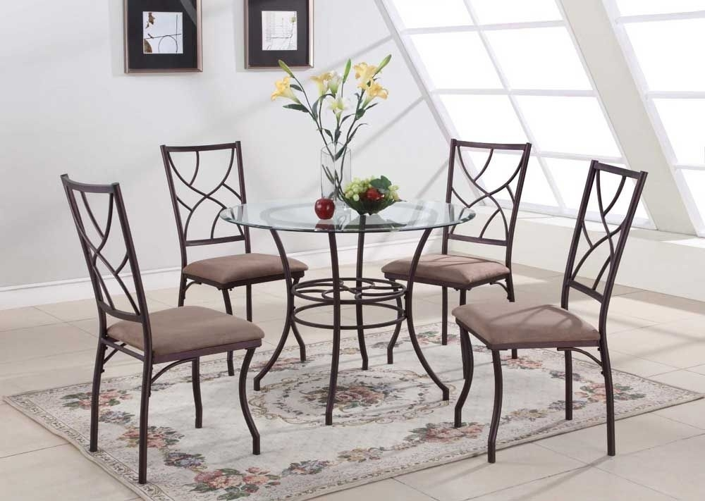 40 Inch Round Glass Dining Table Set With Metal Leg Consumer Reviews for Glass Dining Tables Sets