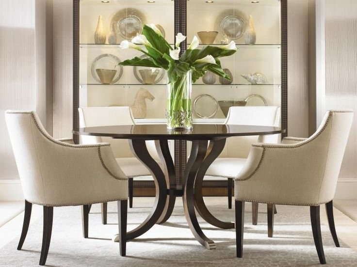 45 Best Dining Room Images On Pinterest | Modern Dining Chairs Pertaining To Palazzo 9 Piece Dining Sets With Pearson White Side Chairs (Photo 6 of 25)