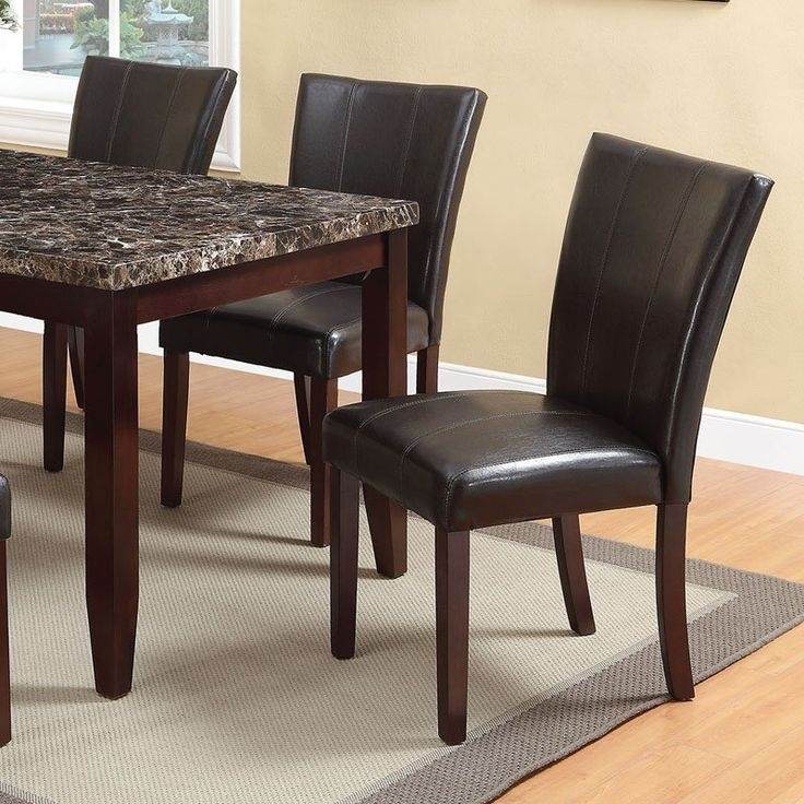 47 Best Dining Room Images On Pinterest | Dining Room, Dining Rooms For Caira 7 Piece Rectangular Dining Sets With Upholstered Side Chairs (View 18 of 25)