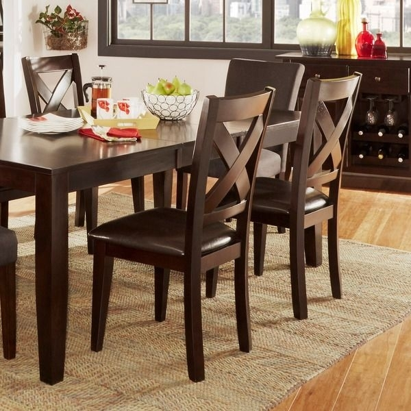 47 Best Dining Room Images On Pinterest | Dining Room, Dining Rooms Intended For Caira 7 Piece Rectangular Dining Sets With Upholstered Side Chairs (Photo 13 of 25)