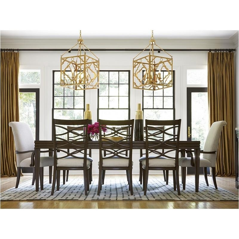 475653 Universal Furniture Dining Table - Hollywood Hills pertaining to Universal Dining Tables
