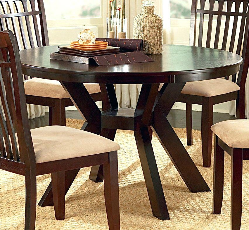 48 Inch Dining Table Awesome Inch Round Dining Table Of In Antique Within Combs 48 Inch Extension Dining Tables (Photo 24 of 25)