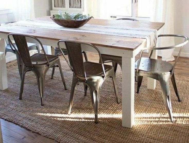 48 Stunning Rug For Farmhouse Kitchen Ideas | Kitchen | Pinterest Within Amos 7 Piece Extension Dining Sets (Image 2 of 25)