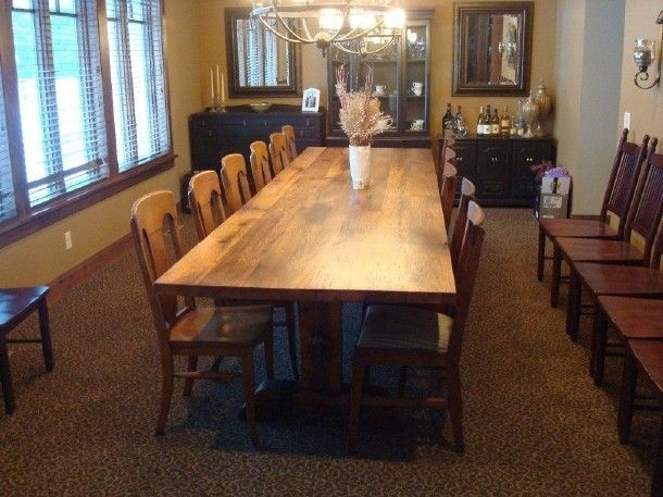 4X11 Oak Farm Table | Idea Board | Pinterest | Dining Room, Dining In Kirsten 6 Piece Dining Sets (View 20 of 25)