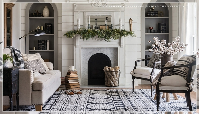 5 Favorite Fixer Upper Rugs | The Harper House with regard to Magnolia Home Prairie Dining Tables